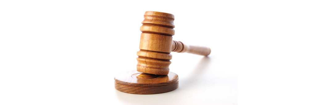 Sveriges rättsväsende är uppbyggt av olika instanser.